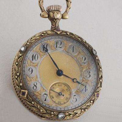 Antique Pocket Watch Victorian