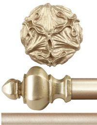 Carvings || Medallions || Tiebacks || Multiscale - Antique Drapery Rod Company