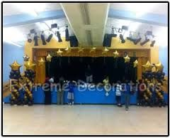 graduation decorations with balloons - Google Search