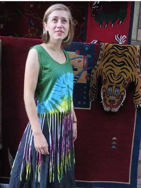 Sinker cotton hippie tie dye top made in Kathmandu. For this and much more, visit www.himalayanhandmades.com #tiedye #hippieclothing #fashion #tops #summer