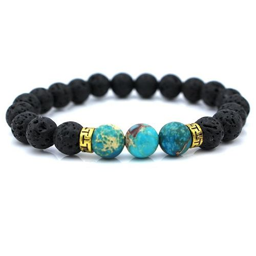 Lava Stone Diffuser Bracelet>>this is awesome! The lava rocks soak up essential oils, so you can carry your favorite scents with you wherever you go!