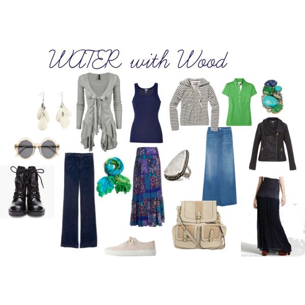 WATER with Wood, created by expressingyourtruth on Polyvore