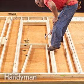 Wall Framing Tips for New Construction | The Family Handyman