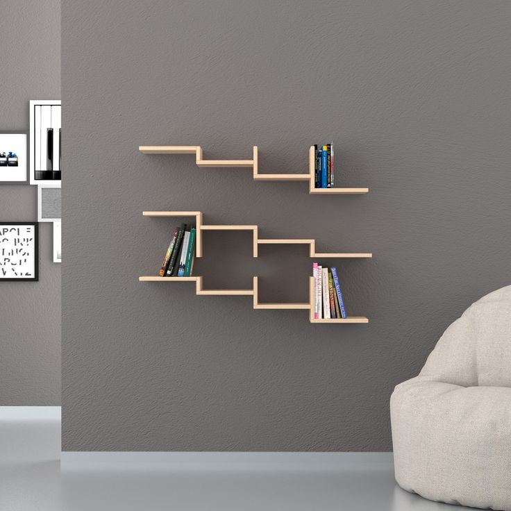 Step Wall Shelves (set of 3)
