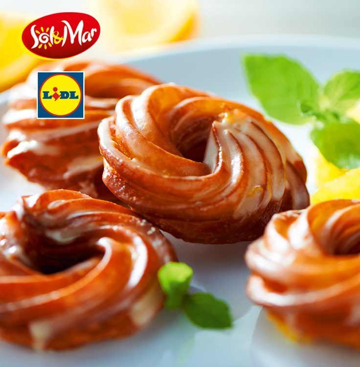 Przysmak z Saragossy - pomarańczowe wianuszki. Kuchnia Lidla - Lidl Polska. #lidl #solandmar