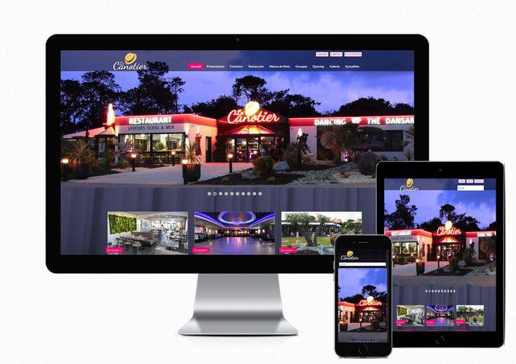 Création du site Internet Dancing Le Canotier à #Brest http://www.air-media29.com/restaurant-dancing-le-canotier.html