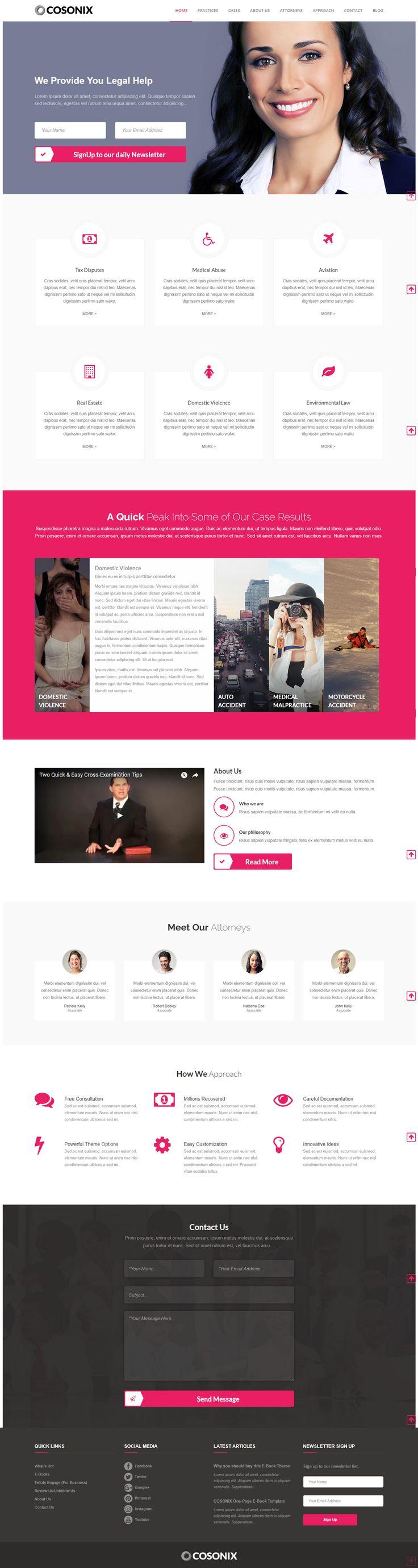 Cosonix Agency is a Multipurpose WordPress