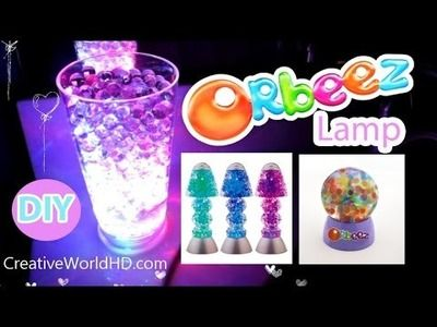 DIY: How to Make Orbeez Color Changing Mood Lamp.Night Light for $3 Cheap and Easy by Creative World