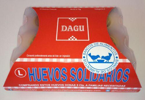 Huevos DAGU Solidarios con el Banco de Alimentos http://www.dondedijehuevodigodagu.com/Huevos-Solidarios-DAGU-FESBAL