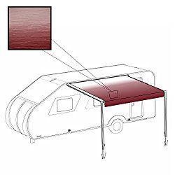 ALEKO 21X8 Feet RV Awning Fabric Replacement for Retractable Awning, Burgundy Color