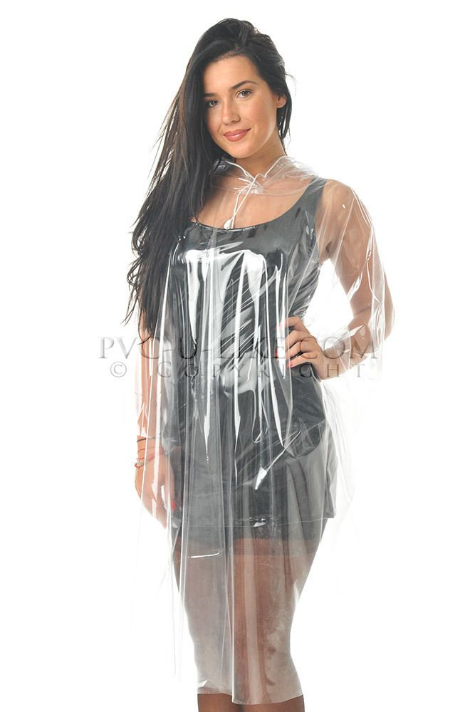 pvc plastic vinyl raincoat cape poncho regenmantel rainwear imperm able vinyls capes and plastic. Black Bedroom Furniture Sets. Home Design Ideas
