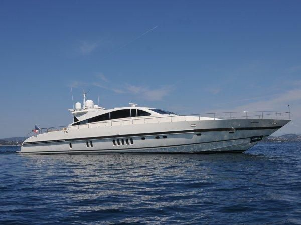 """Leopard 27 open - http://boatsforsalex.com/leopard-27-open/ -                                               US$1,588,953  Year: 2006Length: 89'Engine/Fuel Type: TwinLocated In: Cogolin, FranceHull Material: FiberglassYW#: 29866-2716099Current Price: EUR1,175,000 Tax Not Paid (US$1,588,953) """"NAISCA IV"""" is a stunning example of ..."""