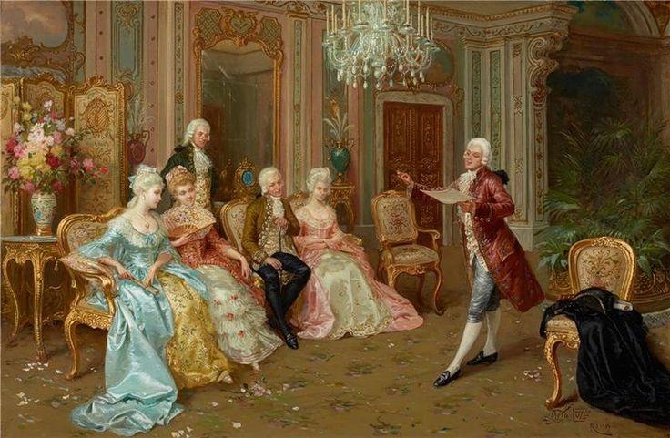 The Recital - Cleto Luzzi