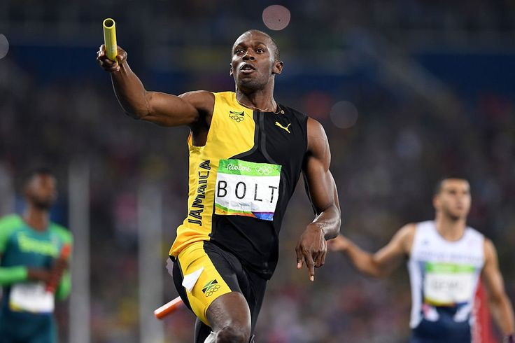 Usain Bolt finished the Rio Olympics in the most fitting way possible