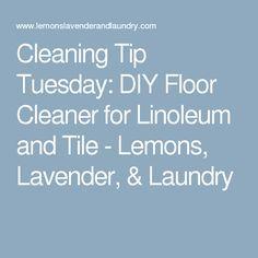 1000 Ideas About Linoleum Cleaner On Pinterest Clean