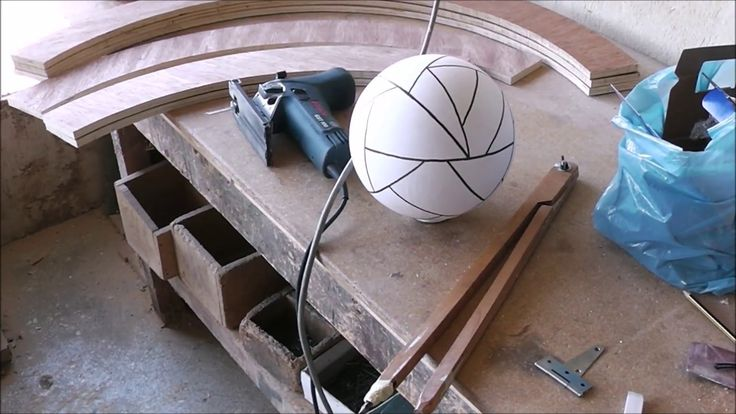 CELINE (MOON IN GREEK) GEODESIC PLYWOOD STRUCTURE