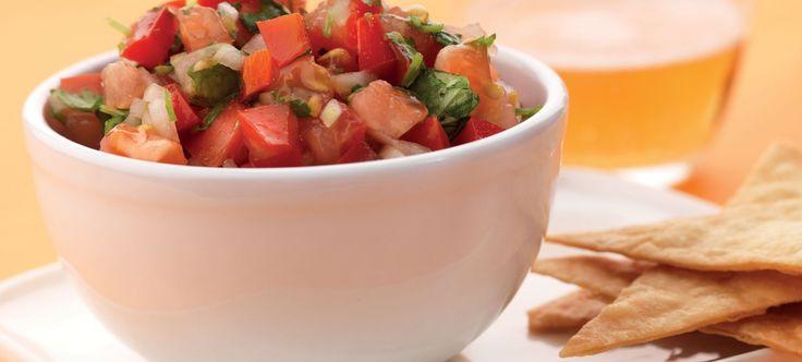 Pico de gallo van zoetzure tomaat, jalapeno en frisse limoen