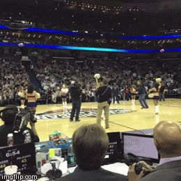 Vine of the Day: Will Ferrell Slams Basketball Into Cheerleader's Face