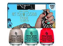 China Glaze 'Desert Escape' Art You Looking Tribal Nail Design Kit
