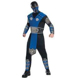 Mortal Kombat Sub Zero Costume Adult Deals