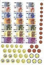 Euros play money монеты 10 рублей с городами