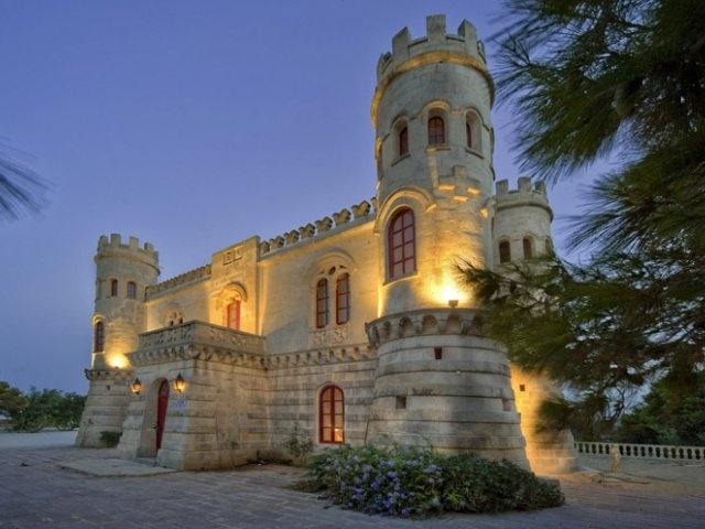 What a venue to hold an event in! Castello dei Baroni, Malta.