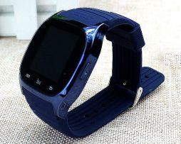Luxusné nadupané SMART inteligentné hodinky v modrej farbe