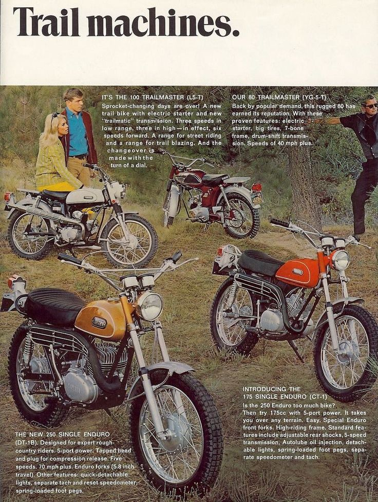 Yamaha Trail Bikes Ad https://plus.google.com/+JohnPruittMotorCompanyMurrayville/posts