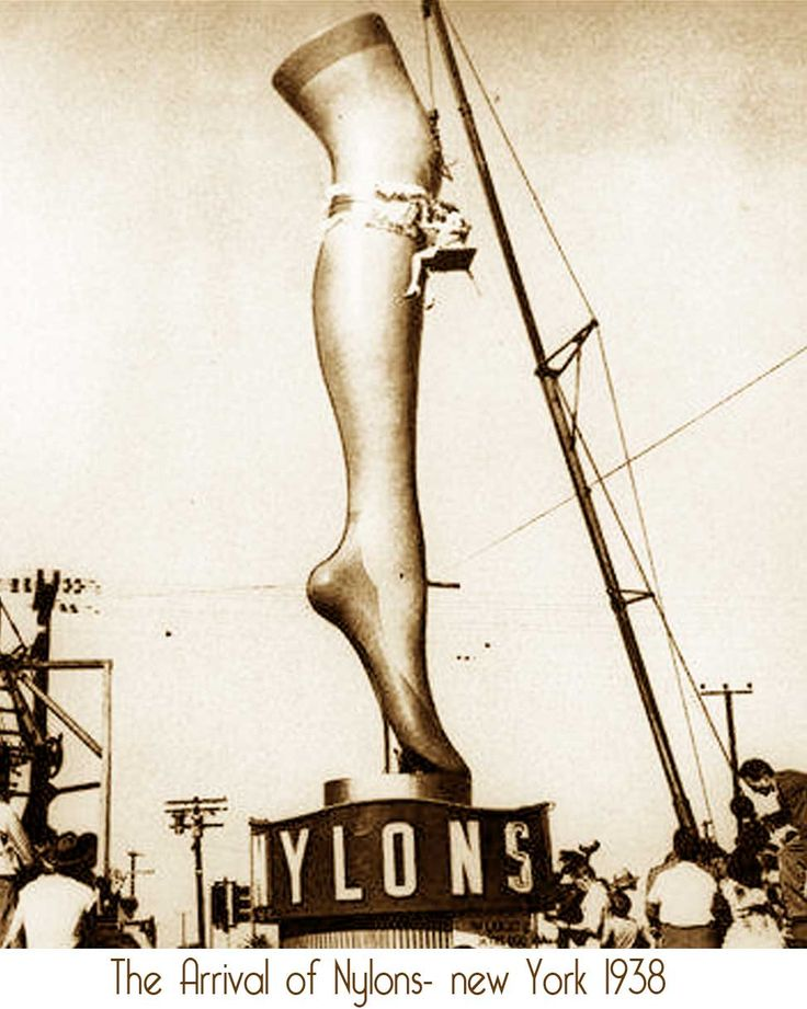 The invention of Nylon Stockings ! http://glamourdaze.com/2009/09/1930s-fashion-invention-of-nylon.html