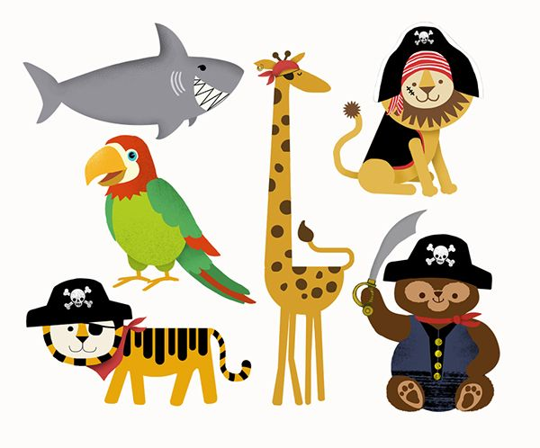 Pirate Puzzle App on Behance