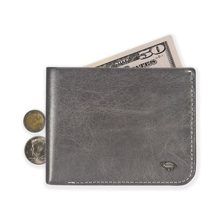 02 Hide & Carry Wallet _ Grey