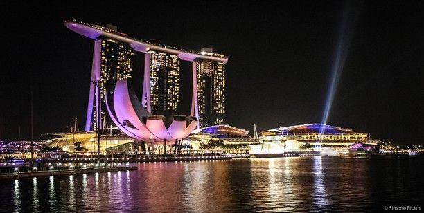 Marina Bay, Singapore - Marina Bay by night