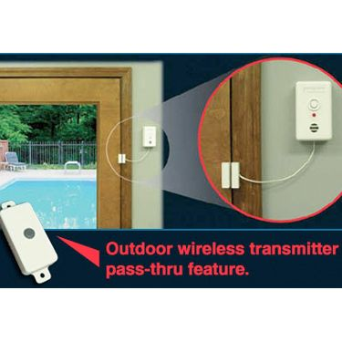 Poolguard Door Alarm with Outdoor Wireless Transmitter  sc 1 st  Pinterest & 65 best Pool Alarms images on Pinterest | Swimming pools Pools and ...
