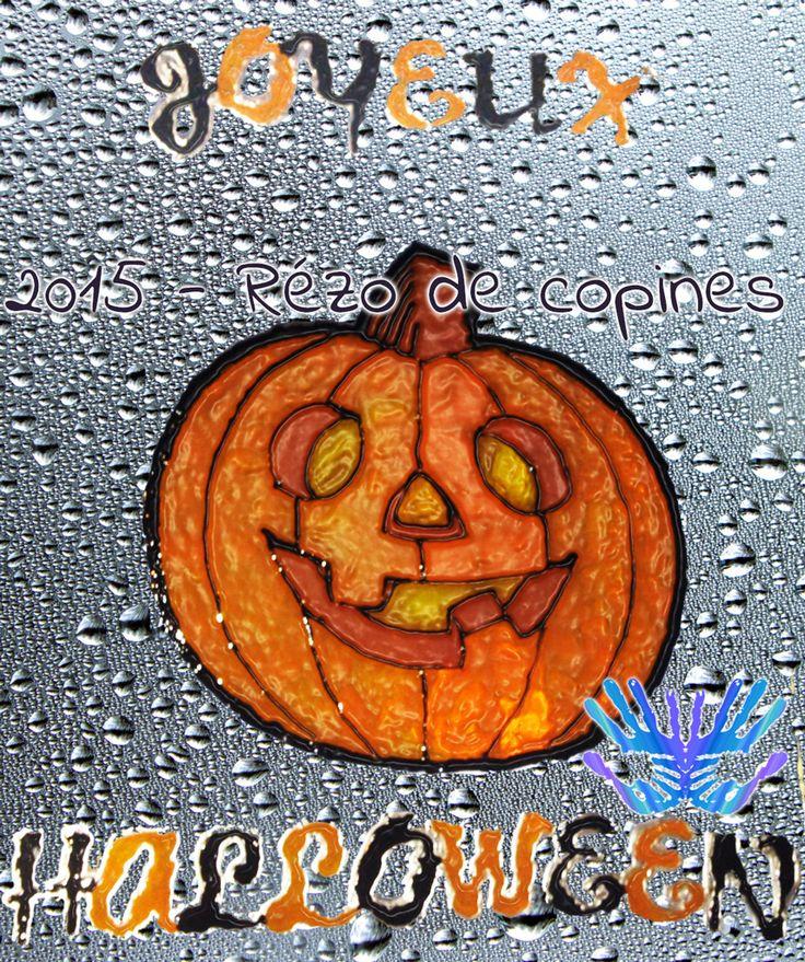 Décoration d'Halloween en Windows Color
