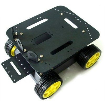 Canakit 4 Wheel Drive (4Wd) Robot Platform For Arduino, 2015 Amazon Top Rated Robot Parts & Accessories #BISS