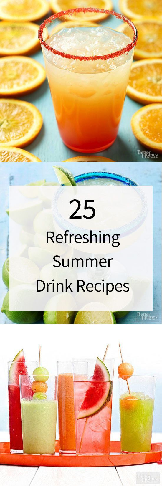 100 best images about drinks on pinterest non alcoholic for Refreshing drink recipes non alcoholic