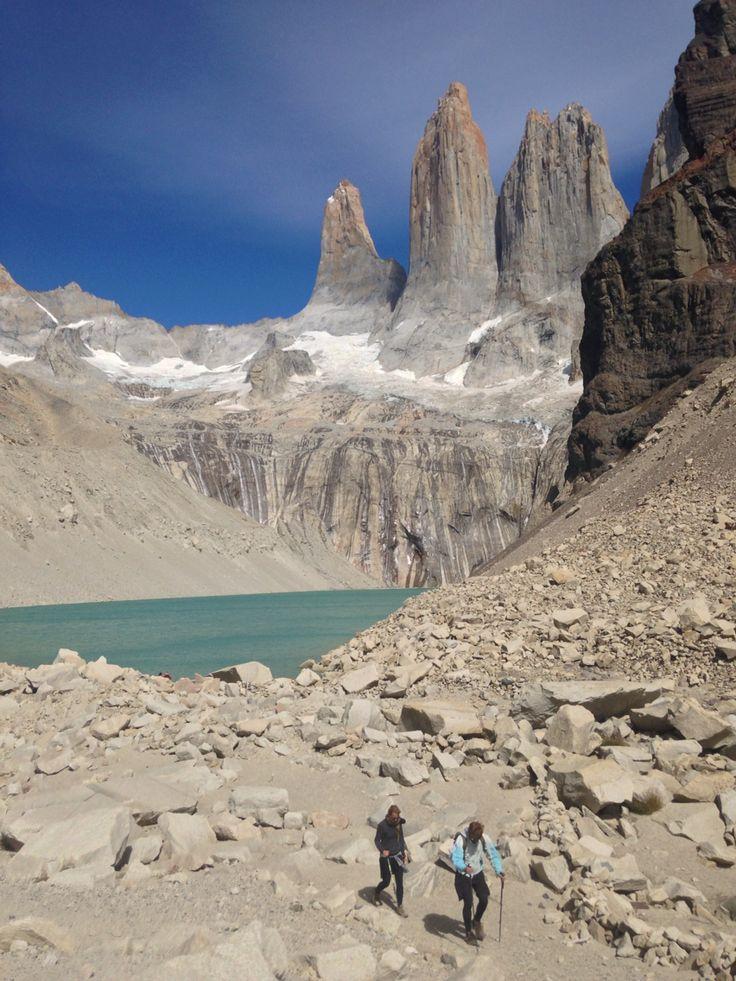 Mirador Base Torres au parc national Torres del Paine au Chili