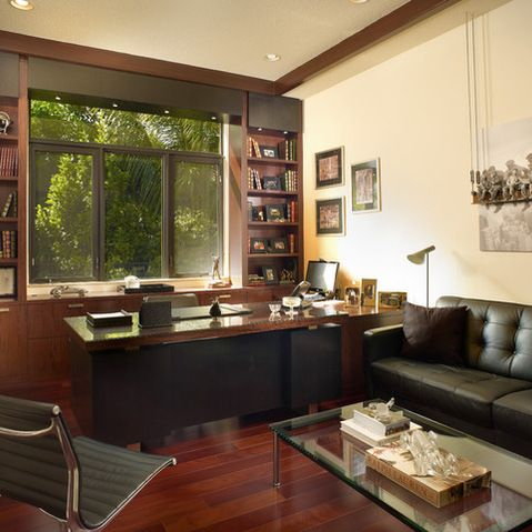 Home Office For Men Design Ideas, Pictures, Remodel, and
