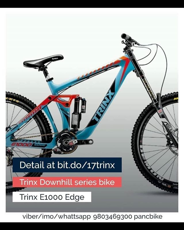 Pancbike I Trinx E1000 Edge Pancbike Trinx E1000 Edge Downhillseries To Order Follow The Following Links Www P Trinx Bikes Downhill Bike Bicycle Brands
