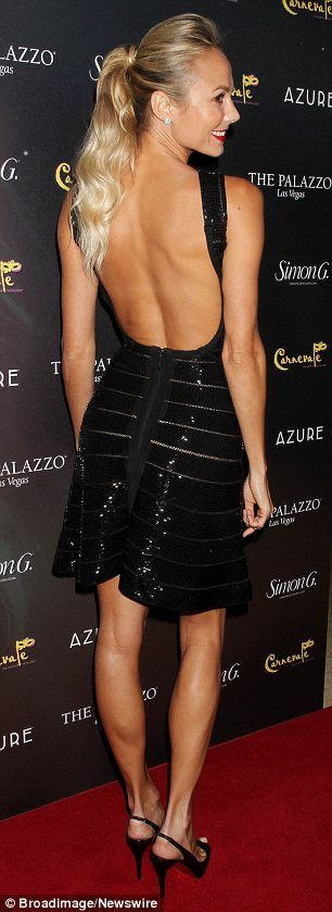 Stacy Keibler at the Simon G Jewellery Summer Soiree and Kickoff for Carnival Nights, held at the Palazzo Hotel and Casino in Las Vegas ~ June 3, 2012