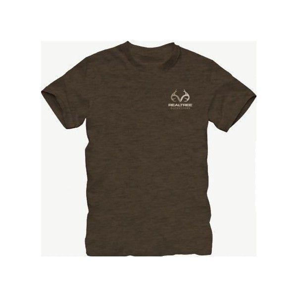 Realtree® Logo Shirts   Realtree Clothing at Realtree.com ($15) ❤ liked on Polyvore featuring shirts and realtree