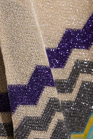 Missoni - Metallic Crochet-knit Jumpsuit - Silver - IT