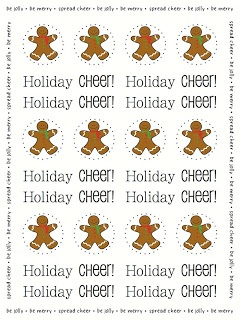SRM Stickers - New Product Reveal Day #1 - Stickers by the Dozen #stickers #new #christmas #gingerbreadman