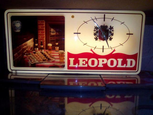 edison39.nl #Garageverkoop #Eindhoven #040 #Vintage #Antiek #Kunst #Design: #Leopold #bier lichtbal / klok