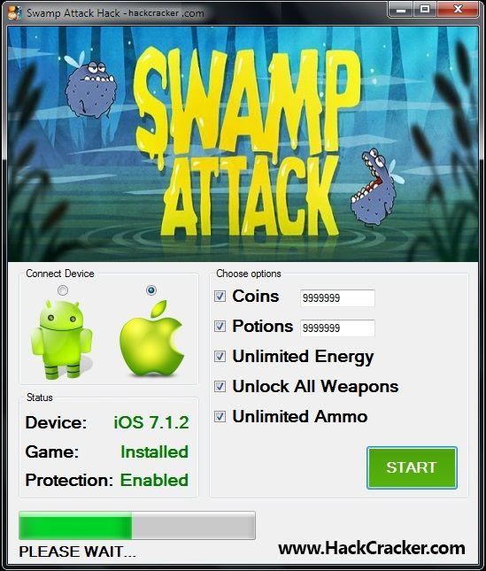 Swamp Attack Hack Cheat Tool