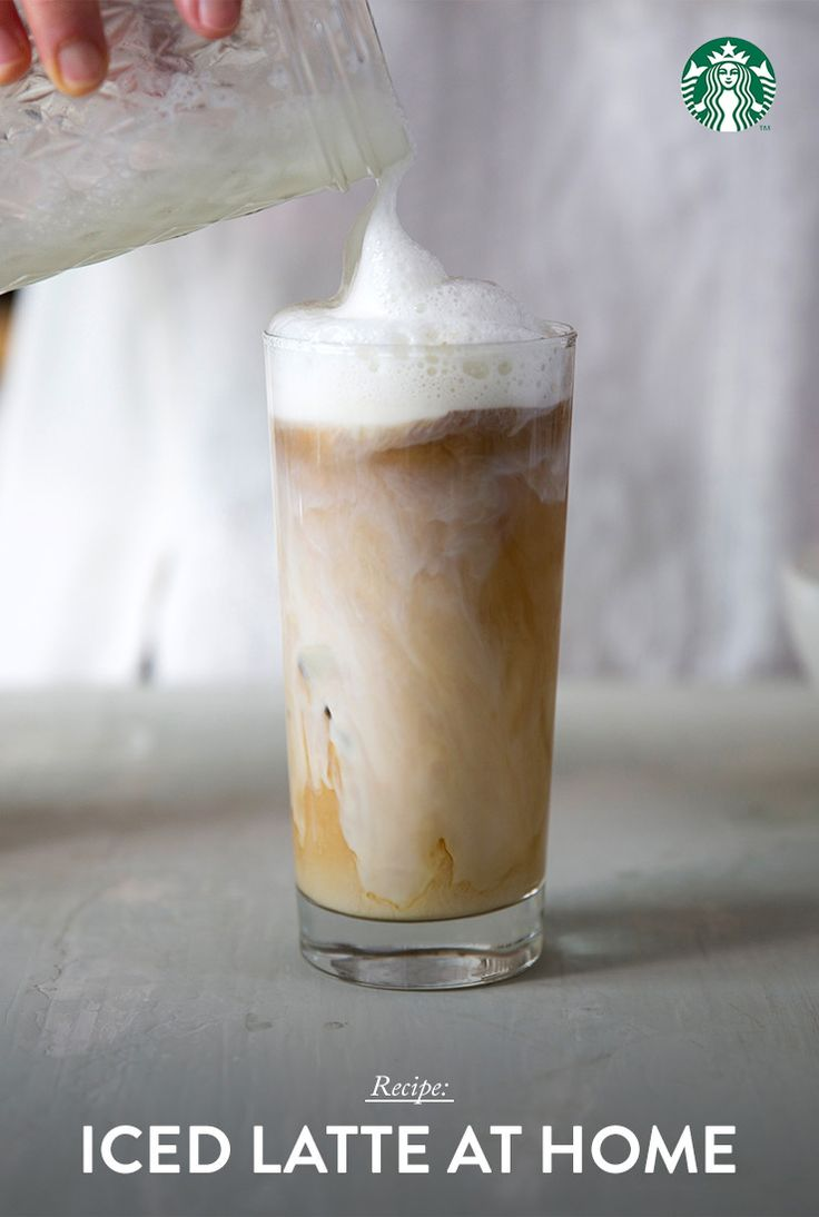 iced latte at home recette caf breuvage et coins caf. Black Bedroom Furniture Sets. Home Design Ideas