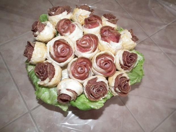 slaná kytica , slané torty | Tortyodmamy.sk