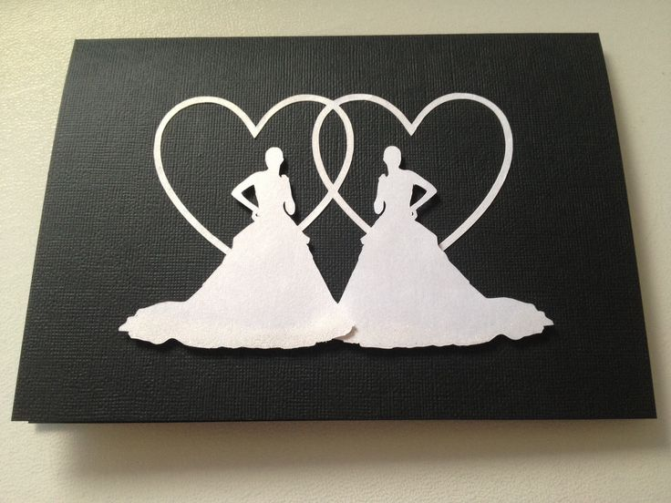 Card for two brides