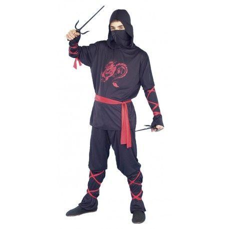13,99 € IVA incluído http://www.misdisfraces.es/disfraces-y-complementos-de-uniformes-y-profesiones-para-carnaval/disfraz-juvenil-de-guerrero-ninja-731?search_query=mdht&results=78
