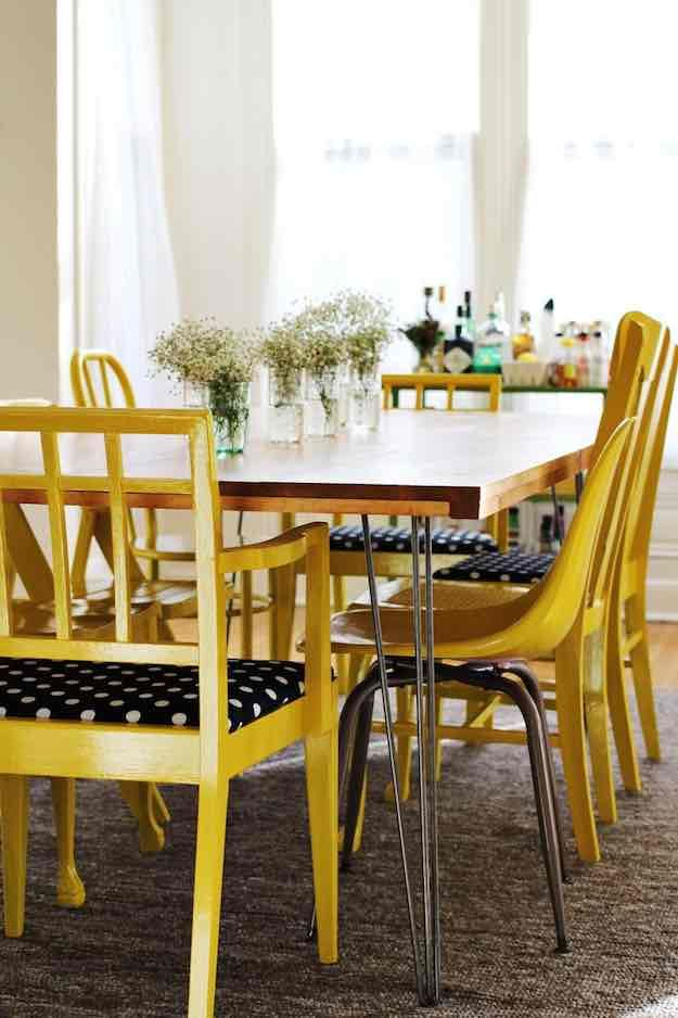 Wood And Metal | Discount Dining Room Sets: Make Your Own With These DIY  Projects